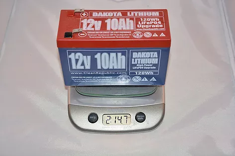 Light Dakota Lithium Battery